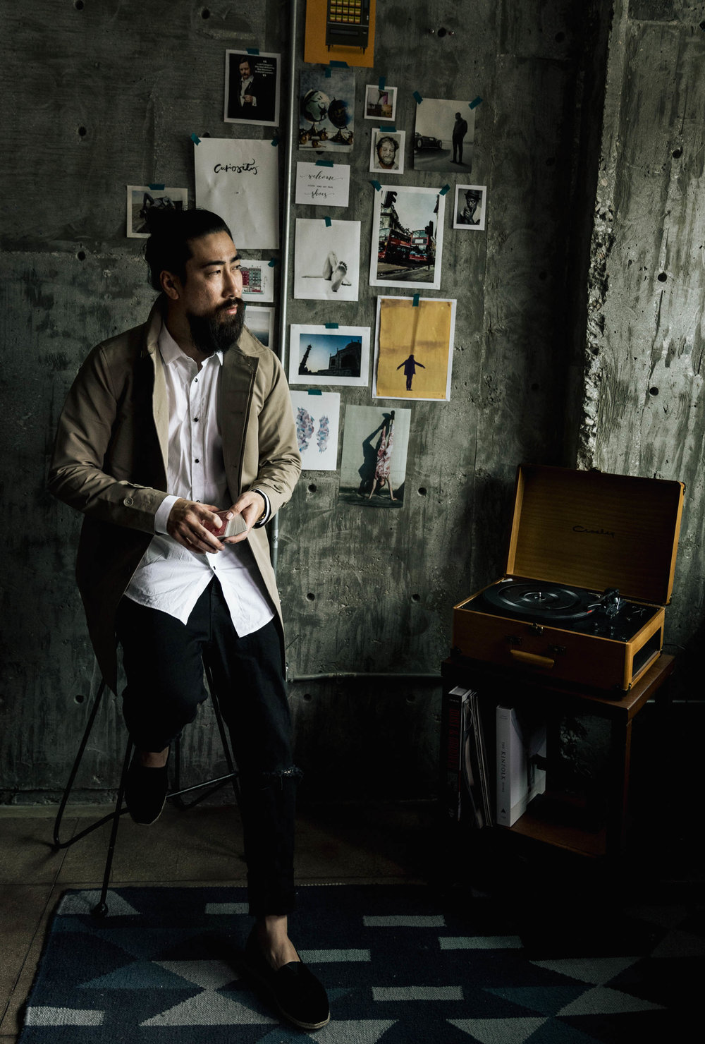 RYAN FENG JUSTFENG OOTDMEN MENS FASHION GQ STYLE ASIAN BEARD DAPPER