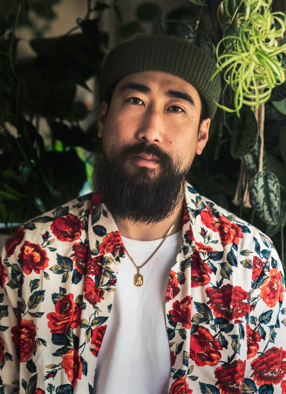 ryan feng justfeng just feng sexy cool hip asian men beard