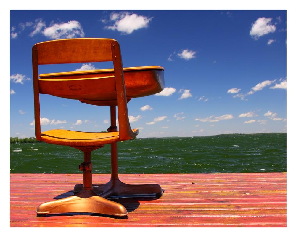 Watching Waves  © Bill Blansett; Still Learning
