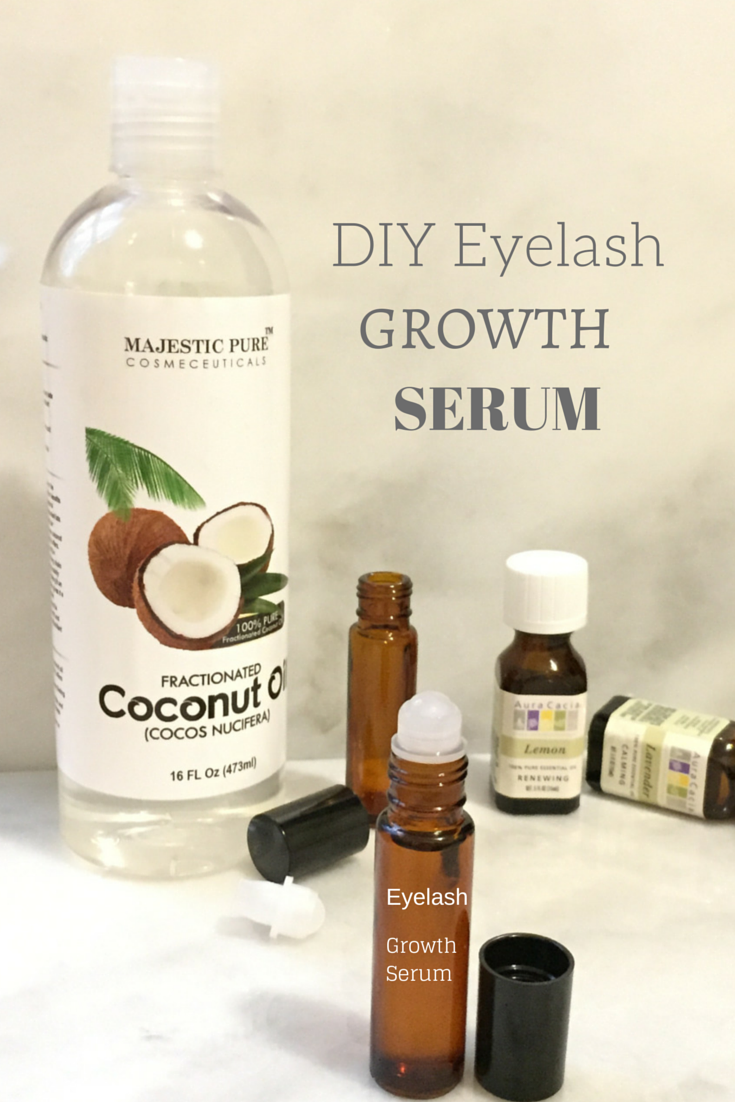 DIY Natural eyelash growth serum