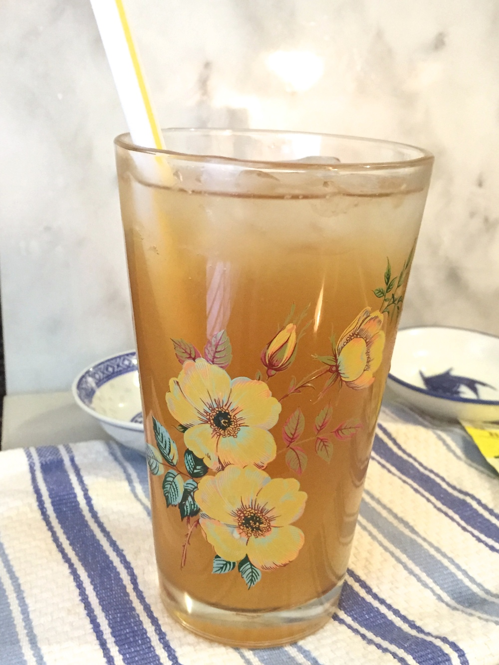 Chamomile Iced Tea