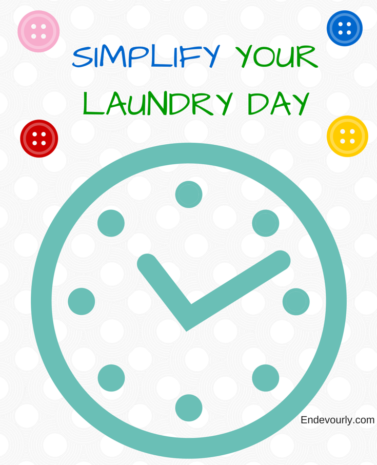 simplify your laundry day