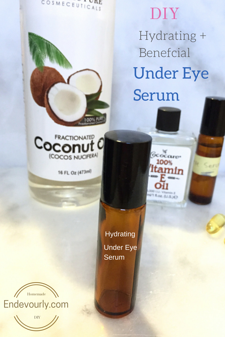 DIY Under Eye Serum