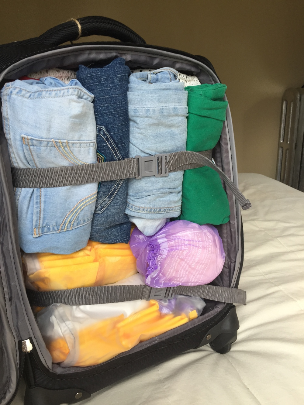When in doubt, pack things you might need