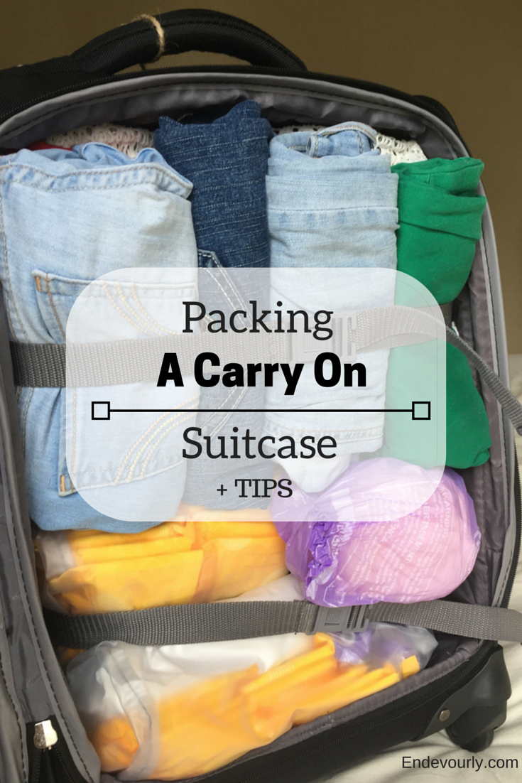 Packing a carry on suitcase can be fun and rewarding!