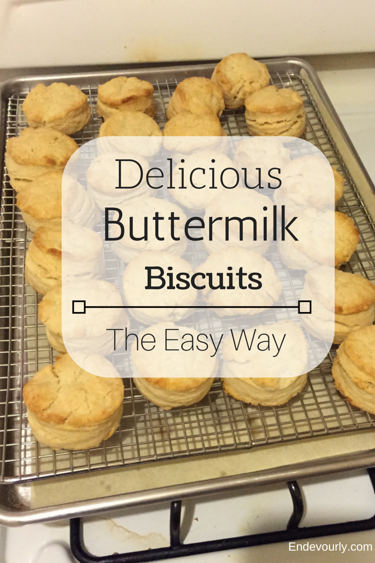 Delicious And Easy Buttermilk Biscuits