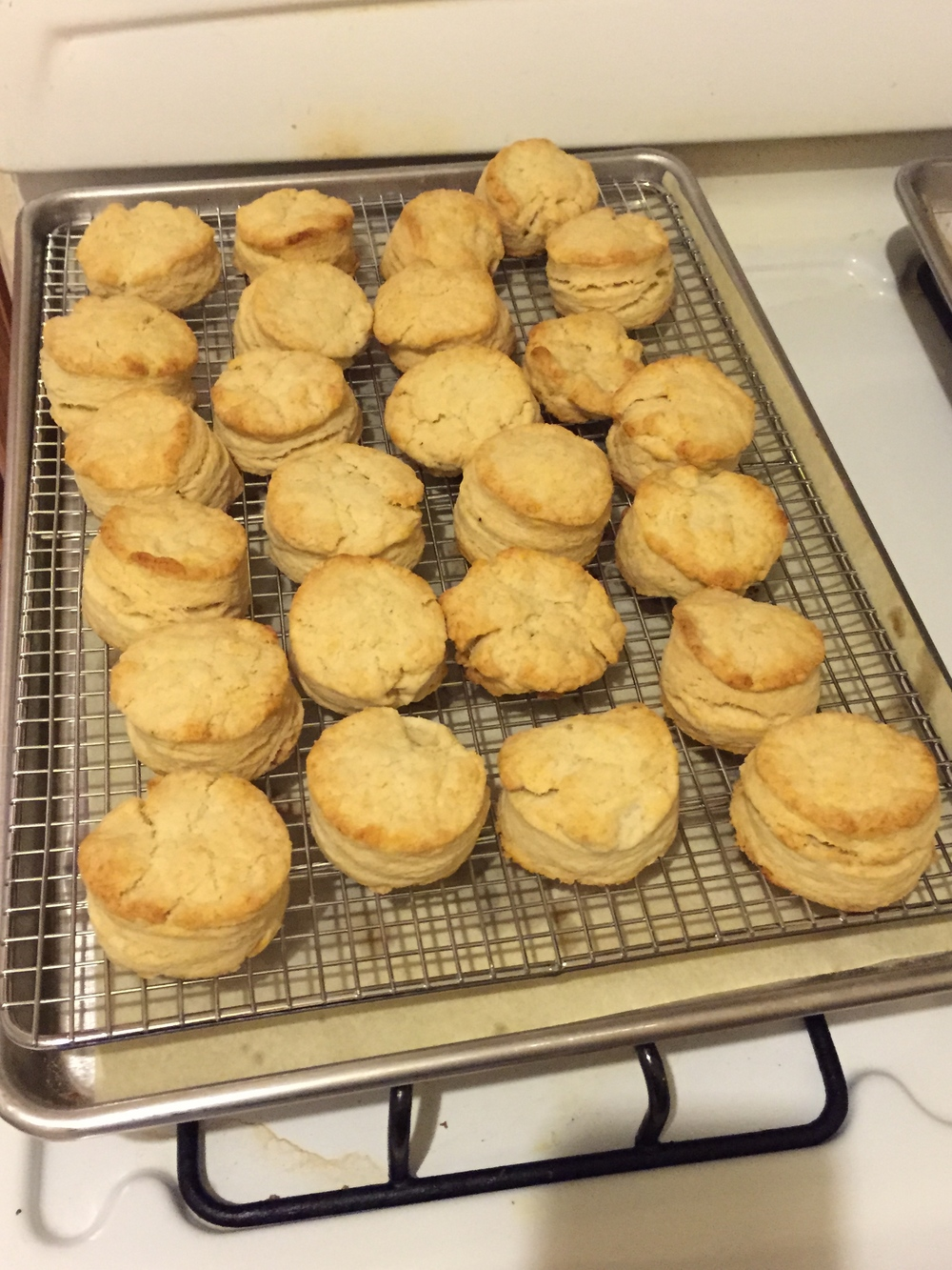 Buttermilk biscuits can be made with buttermilk or heavy cream