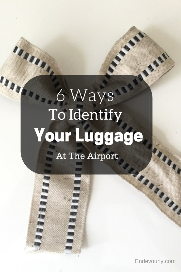 6 Ways To Identify Your Luggage at the Airport