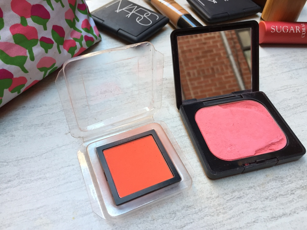Use a blush that compliments your underlying skin tone.
