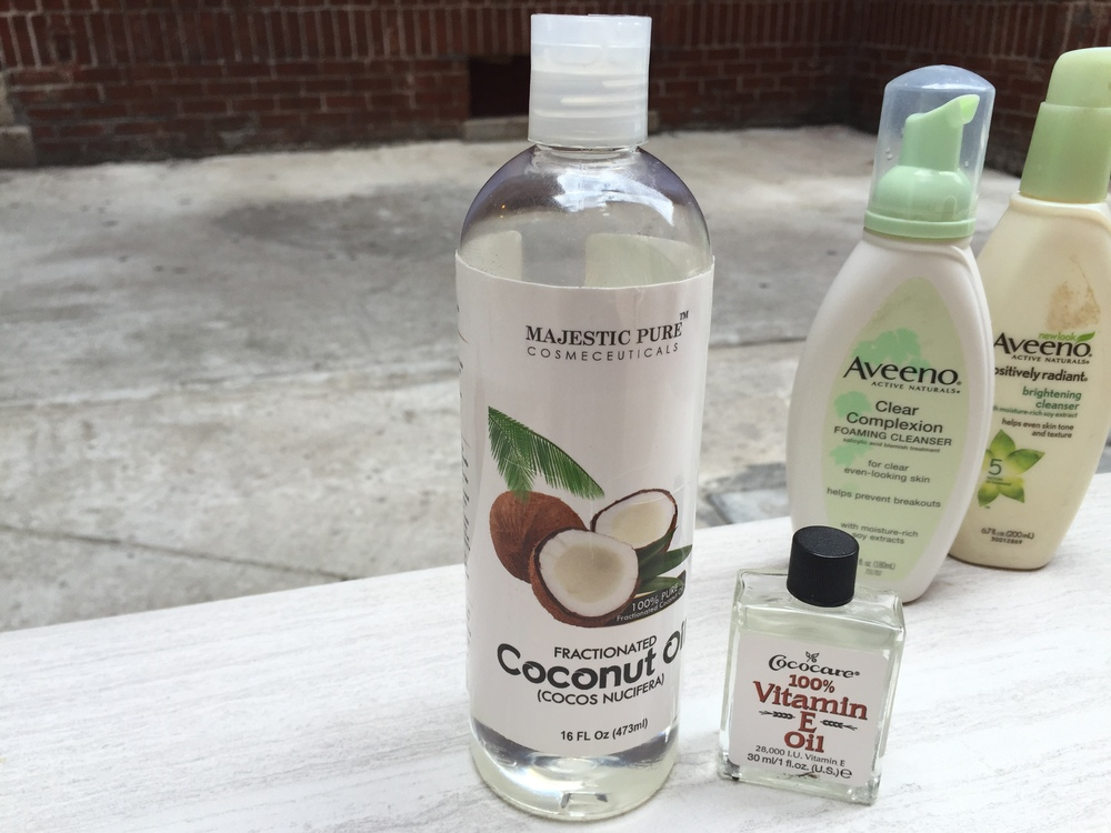 Fractionated Coconut Oil can help you to moisturize your face before makeup application.