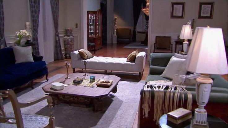 Sophisticated, elegant interior