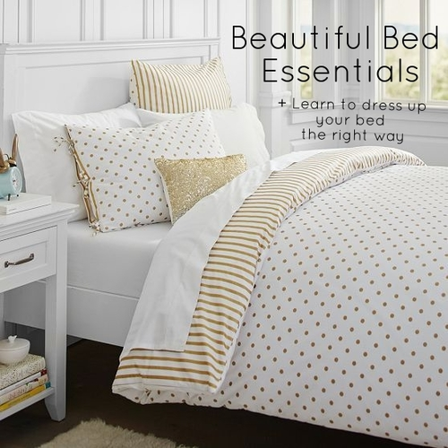 Beautiful Bed Essentials + Learn to dress up your bed the right way