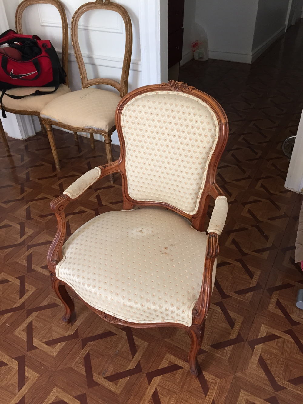 Vintage French Louis XV Chair