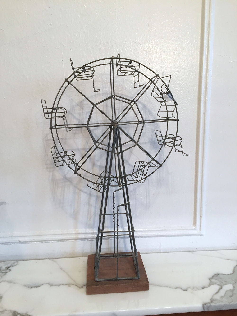 Ferris Wheel Sculpture