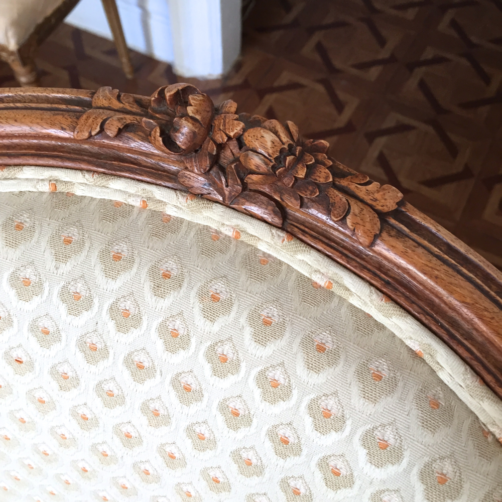 Vintage Louis XV French Chair