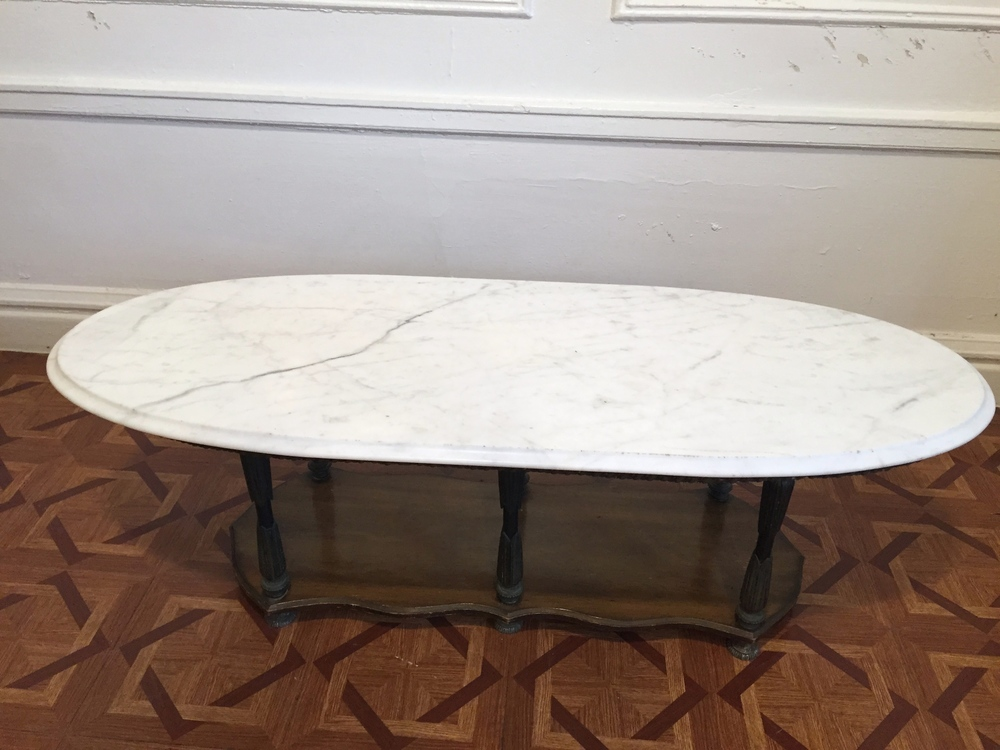 Oval Marble Coffee Table Plans