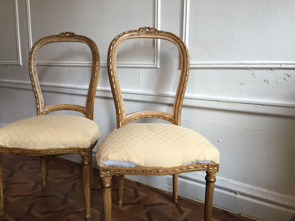 Exceptionnel Vintage French Chairs Plans