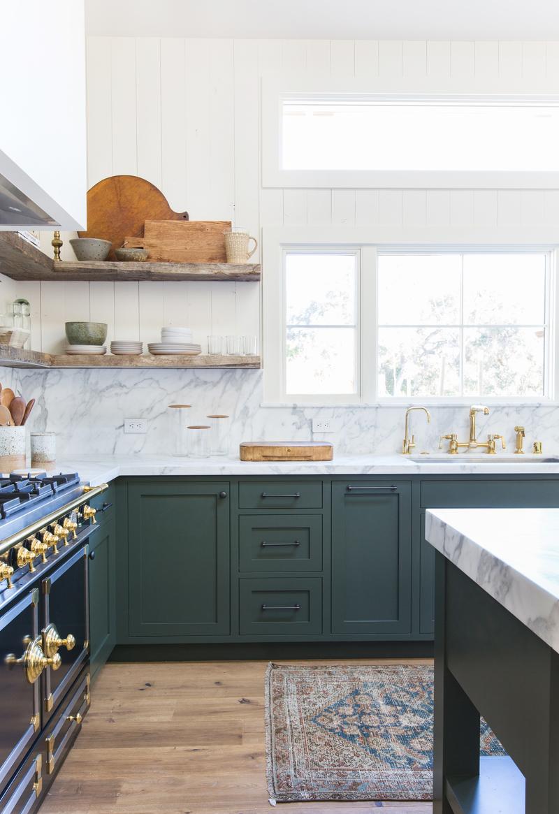 Marble slab backsplash Kitchen Backsplash Design By Amber Interiors Synonymous Why We Prefer The Solid Slab Backsplash Synonymous