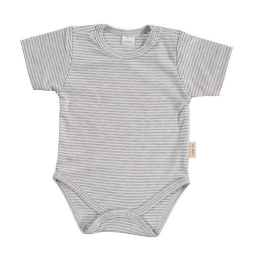 Gray Stripes Basic Body - Short Sleeves
