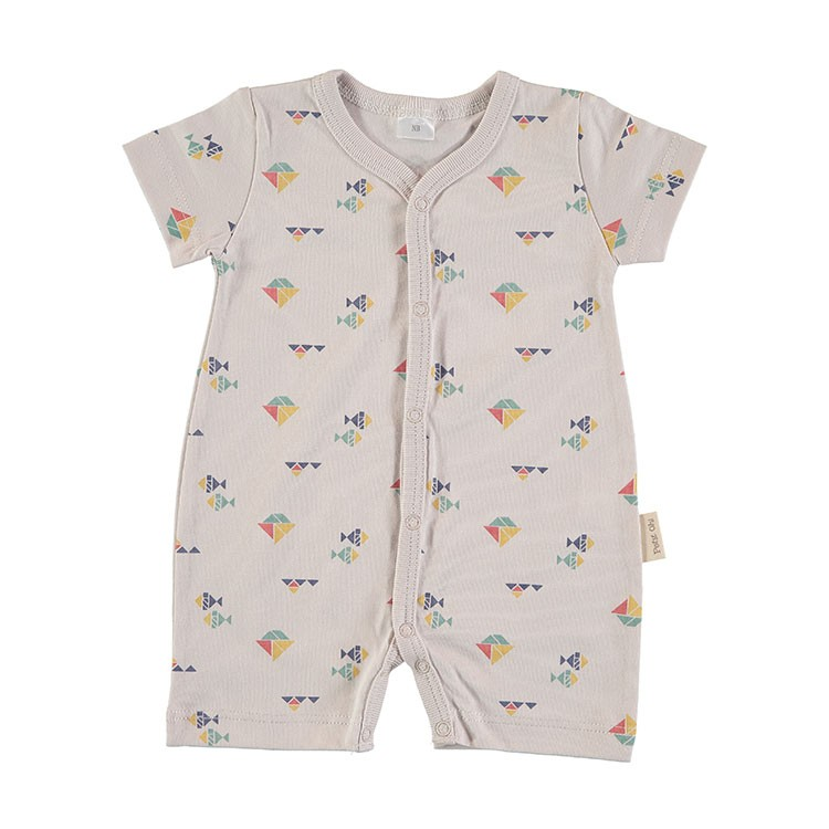Baby Romper Pajama - Sandy Boats