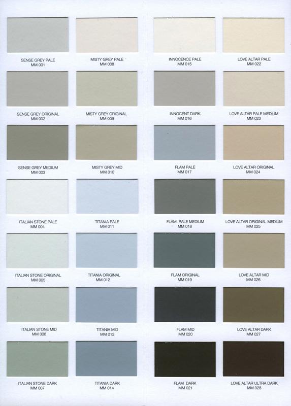 Combinaciones De Colores Pálidos - SYNONYMOUS