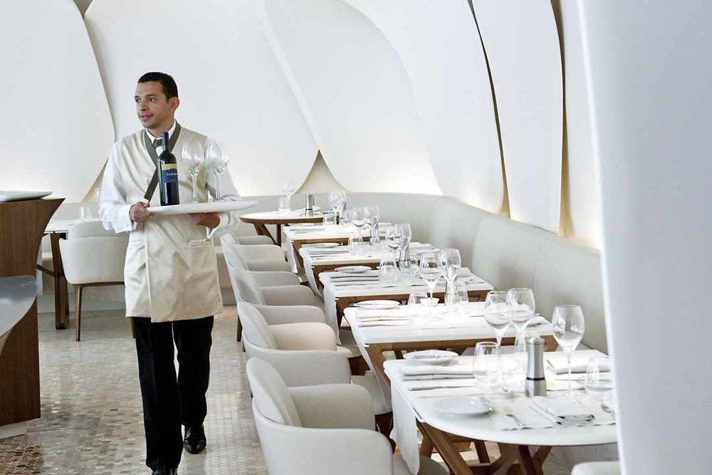 Jouin Manku  Ha, the waiter in the shot :D