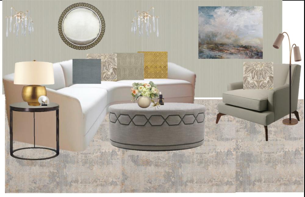 Living Room / Sitting Room / Modern Living Space / Formal Living Room /  Study /