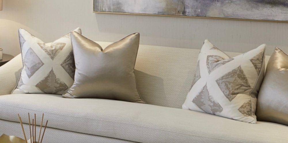 Designer pillows | Bespoke Pillows | Custom Pillows | Throw Pillows | Pink Pillows | blue Pillows | Floral Pillows | Ikat Pillows | Velvet Pillows | Bedding basics | Bedding essentials | Living room decor | Decor Ideas | Fabric | Luxury homes | Synonymouss.com | Synonymous Interior Design Studio NYC