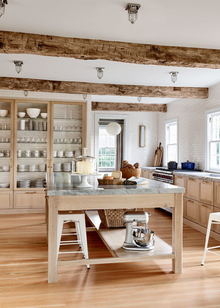 Modern farmhouse ideas | wood cabinets | Vintage china cabinet | china cabinet | China cabinet makeover | antique china | white dishes | Synonymouss.com | Synonymous Interior Design Firm NYC