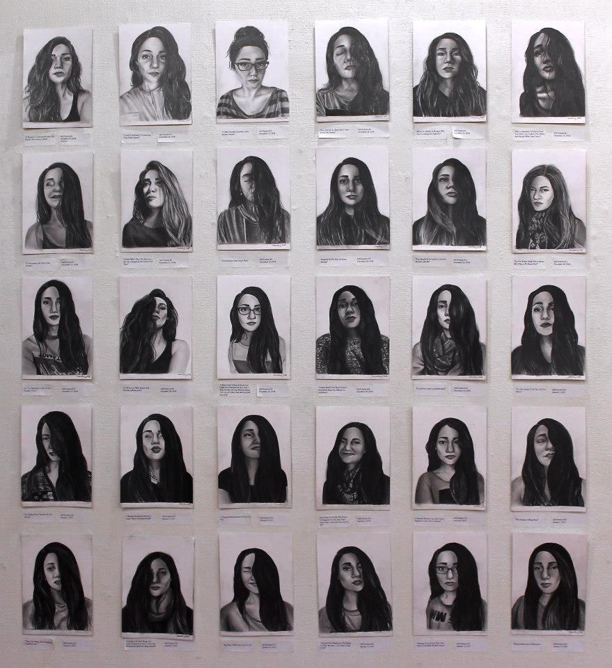 Self Portraits, 1 Month