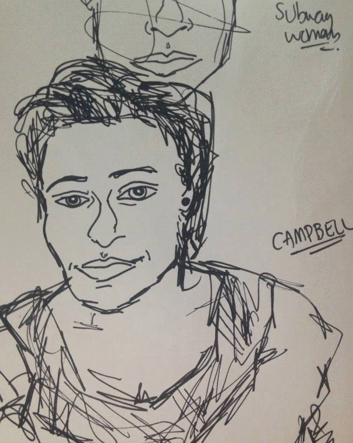 MOMA Portrait: Campbell