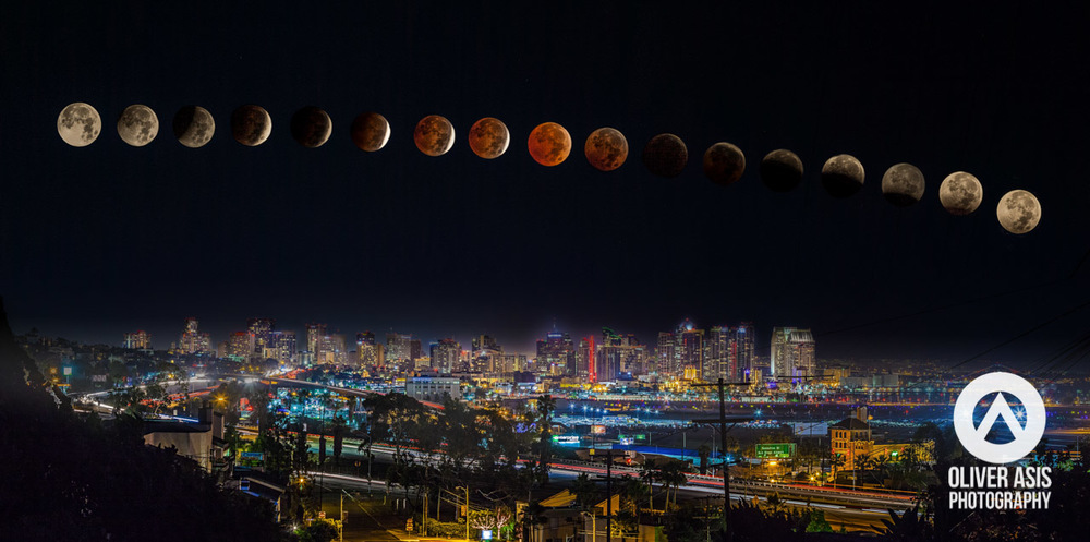 Blood Moon Oliver Asis Photography