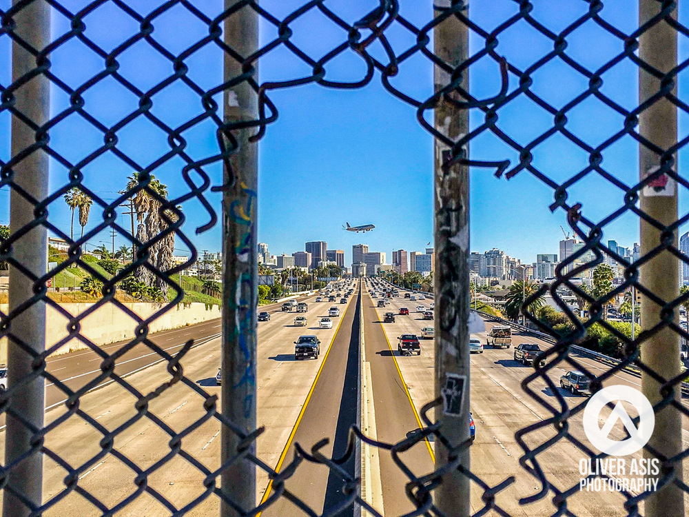oliverasisphotography-adobecreativejam-sandiego-freeway-infrastructure-airplane-photograph-image