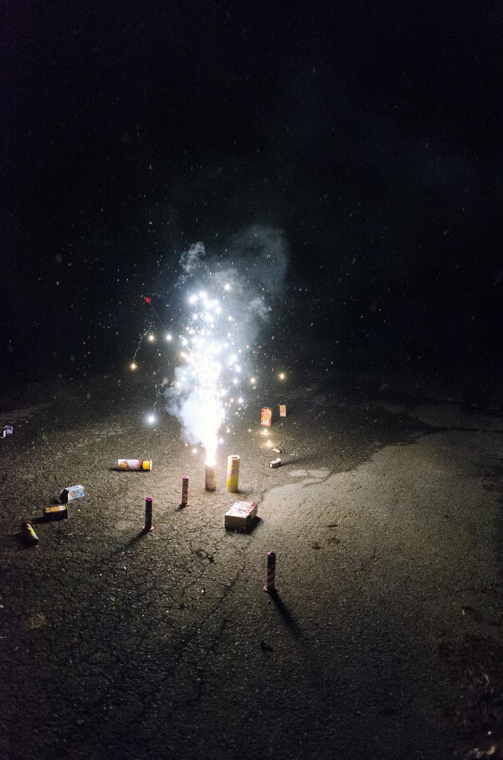"""""""Driveway Fireworks"""""""