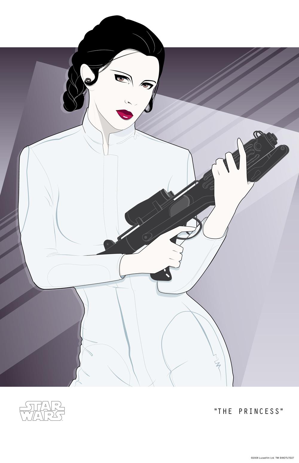 """ The Princess "" - Lucasfilm, LTD 2008"