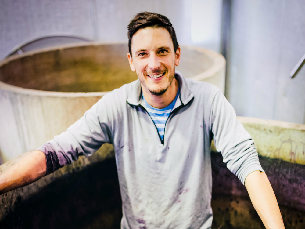 Winemaker Rowly Milhinch