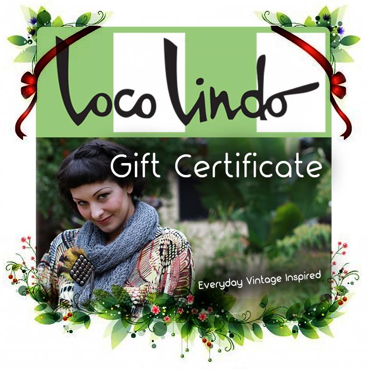 Loco Lindo Gift Certificate