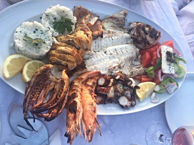 Seafood feast for two!