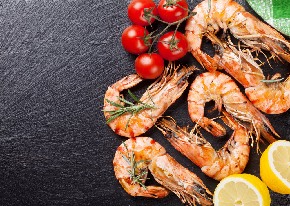 Your best dish is waiting - Food America Shrimp compliments plates