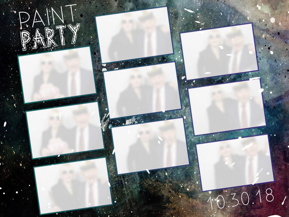 Mega Print Paint Party
