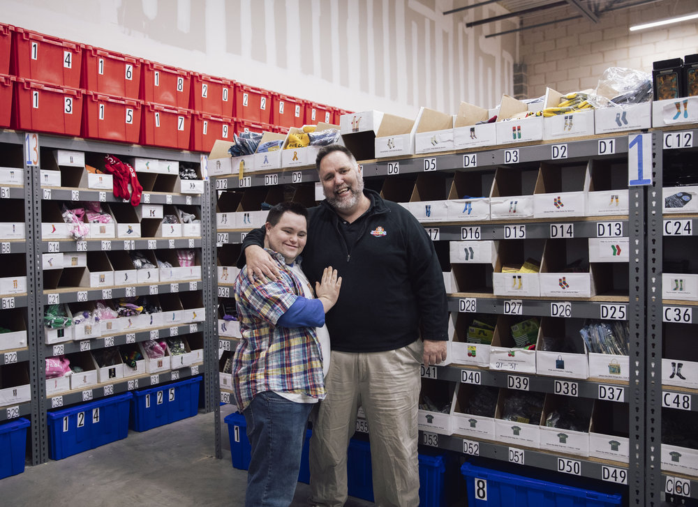 John & Mark Cronin Are Spreading Happiness, One Pair of Socks At A Time