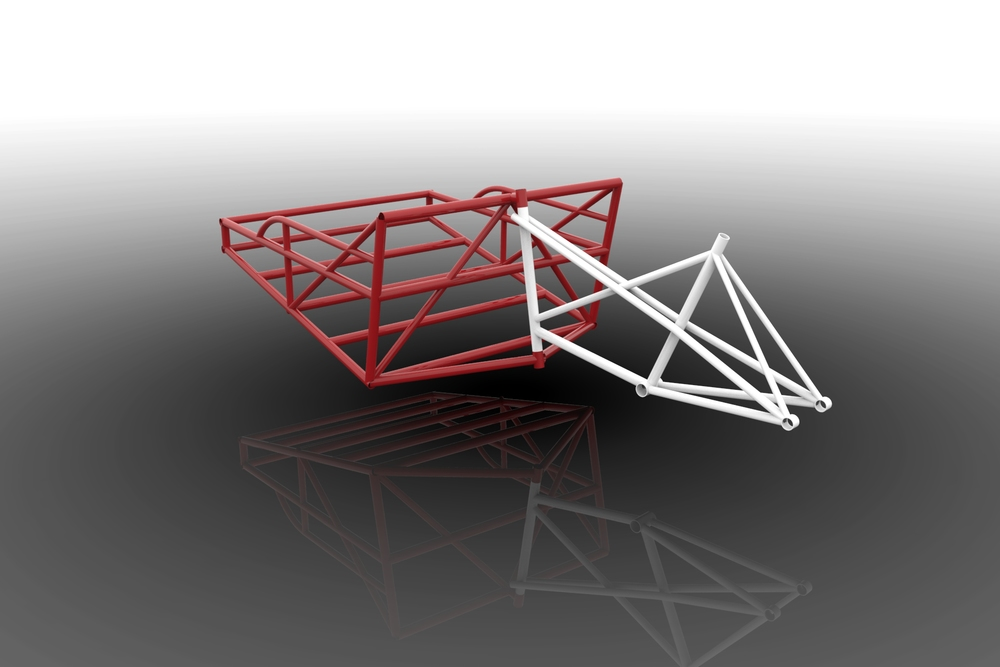 This is an early rendering of our Trishaw- not all elements are final.