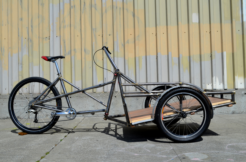 Side View Trishaw