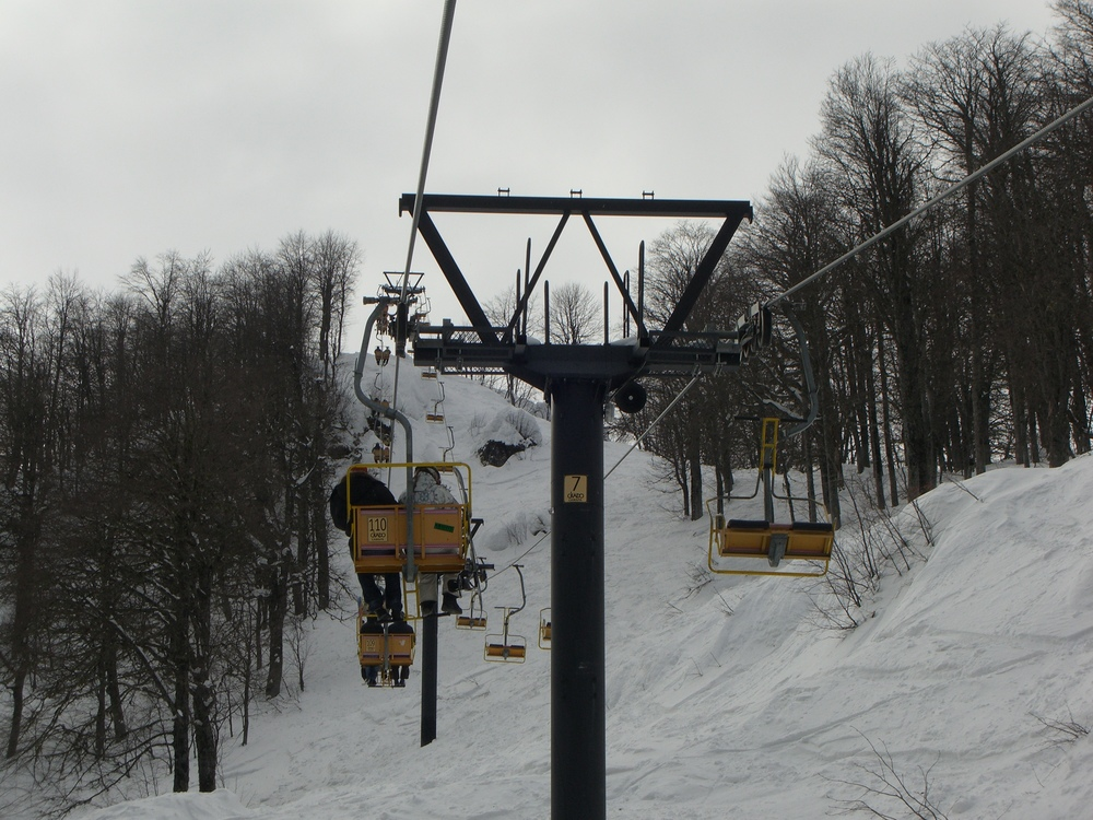 Old, Rickety Russian Ski Lifts