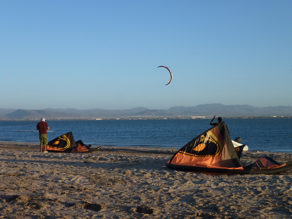 Kiting Near La Paz Day 2