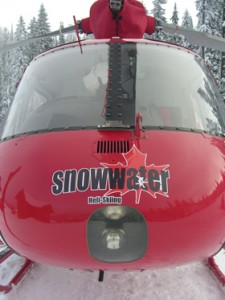 One of our trusted operators, Snowwater Heliski.