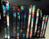 Different ski sizes available.