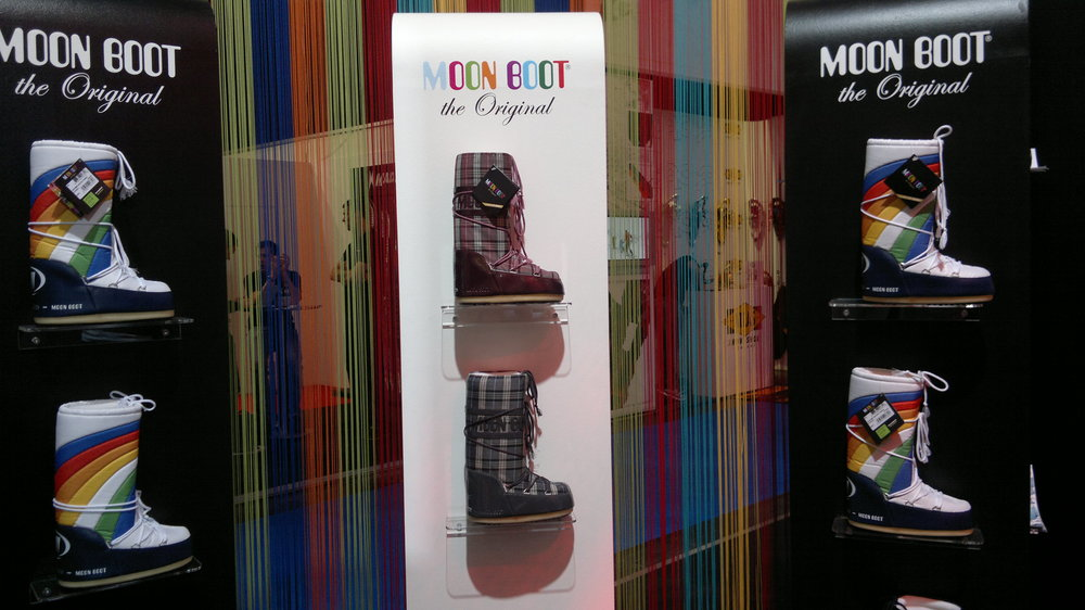 Moon Boots are seeing a revival. I recall my mother (and maybe me too) wearing these in the 80's.