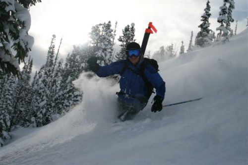 Every day is a powder day for Dave Rutherford, Heli Ski Guide for Great Canadian Heli Skiing