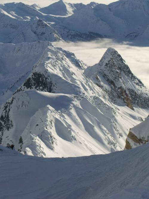 Epic scenery at Chatter Creek Cat Skiing